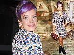 Chanel Dinner Celebrating Chanel No5 The Film By Baz Luhrmann in NYC  Pictured: Lily Allen Ref: SPL864887  131014   Picture by: Richie Buxo / Splash News  Splash News and Pictures Los Angeles: 310-821-2666 New York: 212-619-2666 London: 870-934-2666 photodesk@splashnews.com