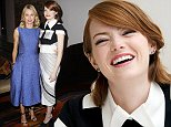 EXCLUSIVE FAO MAIL ONLINE ONLY\n Mandatory Credit: Photo by Startraks Photo/REX (4193449g)\n Naomi Watts and Emma Stone\n Special Luncheon for 'Birdman' film, New York, America - 13 Oct 2014\n \n