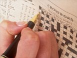 AY164E Hand Writing Solving Pen Hobbies Leisure Pursuits People entertainment Crossword Games Hobbies Sports Leisure