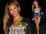 17 October 2014.\nBeyonce and Jay Z seen going for dinner at Harry's bar this evening with Adele.\nCredit: Ben/GoffPhotos.com   Ref: KGC-102\n