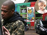 Mandatory Credit: Photo by Beretta/Sims/REX (4210199c)\n Bramley's Big Adventure indoor adventure playground\n Jay Z and Beyonce Knowles take daughter Blue Ivy Carter to a private children's party under the Westway, Notting Hill, London, Britain - 17 Oct 2014\n \n