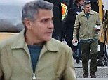 Picture Shows: George Clooney  October 17, 2014    Newlywed George Clooney is spotted on the set of 'Tomorrowland' in Vancouver, Canada.    George was back at work for the first time after having tied the knot with lawyer Amal Alamuddin late last month.    Non Exclusive  UK RIGHTS ONLY    Pictures by : FameFlynet UK    2014  Tel : +44 (0)20 3551 5049  Email : info@fameflynet.uk.com