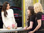 Kim Kardashian on Two Broke Girls