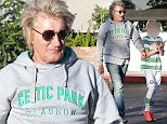 Picture Shows: Rod Stewart, Alastair Stewart  October 16, 2014\n \n 'Forever Young' singer Rod Stewart is seen leaving the Beverly Glen deli restaurant after having lunch with his Celtic loving son Alastair in Los Angeles, California.\n \n The sixty-nine year-old was casually dressed in a hooded grey sweatshirt, faded denim jeans and Adidas sneakers as he left the deli.\n \n Exclusive - All Round\n UK RIGHTS ONLY\n Pictures by : FameFlynet UK    2014\n Tel : +44 (0)20 3551 5049\n Email : info@fameflynet.uk.com