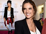 WEST HOLLYWOOD, CA - OCTOBER 16:  Model Alessandra Ambrosio attends the Wildfox Flagship Store Launch Party on October 16, 2014 in West Hollywood, California.  (Photo by Jonathan Leibson/Getty Images for Wildfox)