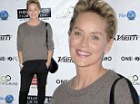 Mandatory Credit: Photo by Picture Perfect/REX (4204891c)\n Sharon Stone\n Hollywood Film Festival Opening Night Gala, Los Angeles, America - 16 Oct 2014\n \n