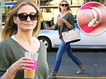 ©NATIONAL PHOTO GROUP \\nA hurried looking Cameron Diaz is seen out running errands armed with her coffee and mobile phone in hand.\\nJob: 101514J2\\nEXCLUSIVE Oct. 15th 2014 Los Angeles, CA\\nNPG.com