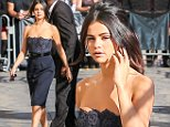 15 Oct 2014 - LOS ANGELES - USA  SELENA GOMEZ LOOKING GORGEOUS AT JIMMY KIMMEL.  BYLINE MUST READ : XPOSUREPHOTOS.COM  ***UK CLIENTS - PICTURES CONTAINING CHILDREN PLEASE PIXELATE FACE PRIOR TO PUBLICATION ***  **UK CLIENTS MUST CALL PRIOR TO TV OR ONLINE USAGE PLEASE TELEPHONE  44 208 344 2007 ***