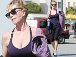 15.OCTOBER.2014 - LOS ANGELES - USA\n*** EXCLUSIVE ALL ROUND PICTURES AVAILABLE FOR UK ONLY ***\nACTRESS MELANIE GRIFFITH SEEN LEAVING HER YOGA CLASS IN LOS ANGELES, CALIFORNIA.\nBYLINE MUST READ : XPOSUREPHOTOS.COM\n***UK CLIENTS - PICTURES CONTAINING CHILDREN PLEASE PIXELATE FACE PRIOR TO PUBLICATION *** CLIENTS MUST CALL PRIOR TO TV OR ONLINE USAGE PLEASE TELEPHONE 020 8344 2007