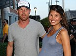 NEW YORK, NY - SEPTEMBER 2: Brad Richards and Rechelle Jenkins attend Day 9 of the 2014 US Open at USTA Billie Jean King National Tennis Center on September 2, 2014 in the Flushing neighborhood of the Queens borough of New York City. (Photo by Jean Catuffe/GC Images)