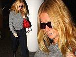 Los Angeles, CA - Actress, Gwyneth Paltrow, seen departing out of LAX looking simply chic in a crop grey sweater, black capri trousers, black high-heel boots, and a red handbag.\nAKM-GSI          October 16, 2014\nTo License These Photos, Please Contact :\nSteve Ginsburg\n(310) 505-8447\n(323) 423-9397\nsteve@akmgsi.com\nsales@akmgsi.com\nor\nMaria Buda\n(917) 242-1505\nmbuda@akmgsi.com\nginsburgspalyinc@gmail.com