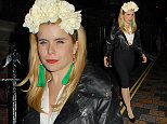 Celebrities at the Chiltern Firehouse.  Pictured: Paloma Faith Ref: SPL867494  171014   Picture by: Splash News  Splash News and Pictures Los Angeles: 310-821-2666 New York: 212-619-2666 London: 870-934-2666 photodesk@splashnews.com
