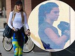 EXCLUSIVE: Gigi Hadid goes to Gotham Boxing Gym in NYC, about 45 minutes before Kendall Jenner arrives. The pair never saw each other in the gym.  Pictured: Gigi Hadid Ref: SPL861817  161014   EXCLUSIVE Picture by: @PapCultureNYC / North Woods  Splash News and Pictures Los Angeles: 310-821-2666 New York: 212-619-2666 London: 870-934-2666 photodesk@splashnews.com