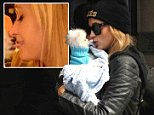 paris hilton dog kiss