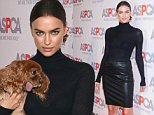 Mandatory Credit: Photo by Startraks Photo/REX (4204876f)\n Irina Shayk\n ASPCA Young Friends Benefit, New York, America - 16 Oct 2014\n \n
