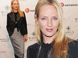 NEW YORK, NY - OCTOBER 16:  Uma Thurman attends the 2014 Wings WorldQuest Women of Discovery Awards at Stephan Weiss Studio on October 16, 2014 in New York City.  (Photo by Jenny Anderson/WireImage)