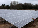 Solar: A mini bond is offering returns of 7 per cent from solar farms
