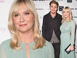 BEVERLY HILLS, CA - OCTOBER 16:  (EXCLUSIVE COVERAGE) Actors Garrett Hedlund (L) and Kirsten Dunst attend the Diesel Black Gold at Saks Fifth Avenue Launch and Flaunt Magazine 15th anniversary celebration party at SIXTY Beverly Hills on October 16, 2014 in Beverly Hills, California.  (Photo by Chelsea Lauren/WireImage)