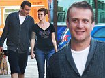 EXCLUSIVE: Jason Segel with his new girlfriend at the grocery store in Hollywood.\n\nPictured: Jason Segel.\nRef: SPL866697  161014   EXCLUSIVE\nPicture by: JLM / Splash News\n\nSplash News and Pictures\nLos Angeles: 310-821-2666\nNew York: 212-619-2666\nLondon: 870-934-2666\nphotodesk@splashnews.com\n