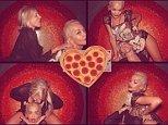 Rita Ora heart instagram