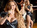 Mandatory Credit: Photo by Imaginechina/REX (4210589e)\n Mariah Carey\n Mariah Carey in concert at Hongkou Soccer Stadium, Shanghai, China - 19 Oct 2014\n \n