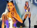 LONDON, ENGLAND - OCTOBER 19:  Ariana Grande performs at the Radio One Teen Awards at Wembley Arena on October 19, 2014 in London, England.  (Photo by Eamonn M. McCormack/Getty Images)