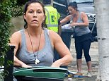 14.OCTOBER.2014  - LONDON  - UK\n*** EXCLUSIVE ALL ROUND PICTURES AVAILABLE FOR UK NEWSPAPERS ONLY ***\nEASTENDERS ACTOR JESSIE WALLACE GOES INTO MELTDOWN WITH HER LOCAL BIN MEN AS THEY WILL NOT TAKE HER RECYCLING BIN DUE TO HER PUTTING ITEMS IN THERE NOT FOR RECYCLING. AFTER HAVING A GO AT THEM THE BIN MEN PRESENT HER WITH A LEAFLET GUIDE ON WHAT CAN GO INTO THE BINS.\nBYLINE MUST READ : XPOSUREPHOTOS.COM\n***UK CLIENTS - PICTURES CONTAINING CHILDREN PLEASE PIXELATE FACE PRIOR TO PUBLICATION ***\n**UK CLIENTS MUST CALL PRIOR TO TV OR ONLINE USAGE PLEASE TELEPHONE  442083442007