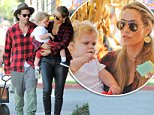 Picture Shows: Greg Lauren, Sky Lauren, Elizabeth Berkley  October 19, 2014\n \n Actress Elizabeth Berkley and her husband Greg Lauren take their son Sky to Mr. Bones Pumpkin Patch in West Hollywood, California. The happy family shopped for pumpkins and Sky got his face painted!\n \n Non-Exclusive\n UK RIGHTS ONLY\n \n Pictures by : FameFlynet UK © 2014\n Tel : +44 (0)20 3551 5049\n Email : info@fameflynet.uk.com