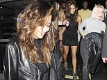 19 Oct 2014 - LONDON - UK\n*** EXCLUSIVE ALL ROUND PICTURES ***\n*** STRICTLY NOT AVAILABLE FOR MAIL ONLINE AND ANY ONLINE SUBSCRIPTION DEALS UNLESS FEE AGREED PRIOR TO USAGE***\nNICOLE SCHERZINGER PICTURED AT THE TOY ROOM CLUB IN MAYFAIR. SHE ARRIVED AT 2AM AFTER A SMALL PRIVATE PERFORMANCE AT THE GROSVENOR HOTEL ON PARK LANE, AND SHE LEFT AT 4AM, WHEN SHE STOPPED HER GROUP OF FRIENDS TO POSE WITH THE CLUB'S MASCOT FRANKY THE TEDDY. THE GROUP THEN WENT FOR A LATE NIGHT MEAL TO MAROUSH RESTAURANT\nBYLINE MUST READ : XPOSUREPHOTOS.COM\n***UK CLIENTS - PICTURES CONTAINING CHILDREN PLEASE PIXELATE FACE PRIOR TO PUBLICATION ***\n**UK CLIENTS MUST CALL PRIOR TO TV OR ONLINE USAGE PLEASE TELEPHONE 44 208 344 2007**