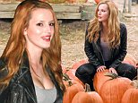 """127879, EXCLUSIVE: CARVE IT UP! Bella Thorne hunts for the perfect pumpkin at a local pumpkin patch. The 17 year old Disney star wore a leather jacket as she shopped for a Halloween decoration on the same night her guest appearance on """"CSI"""" aired on CBS. Los Angeles, California - Sunday October 21, 2014. Photograph: © PacificCoastNews. Los Angeles Office: +1 310.822.0419 sales@pacificcoastnews.com FEE MUST BE AGREED PRIOR TO USAGE"""