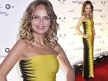 Kristin Chenoweth looks stunning in Herve Leger as she arrives on the red carpet for the 17th Annual Mark Twain Prize for Humor, honoring Jay Leno, at The Kennedy Center in Washington DC.   Pictured: Kristin Chenoweth Ref: SPL869952  191014   Picture by: Gene Young  Splash News and Pictures Los Angeles: 310-821-2666 New York: 212-619-2666 London: 870-934-2666 photodesk@splashnews.com