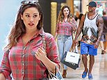 19.OCTOBER.2014 - LOS ANGELES - USA ENGLISH MODEL AND ACTRESS KELLY BROOK SEEN WITH  ON AND OFF BOYFRIEND DAVID MCINTOSH BACK FROM  MEXICO WEEKEND. THE COUPLE WENT SHOPPING AT BEVERLY CENTER IN LOS ANGELES ON SUNDAY AFTERNOON. BYLINE MUST READ : XPOSUREPHOTOS.COM ***UK CLIENTS - PICTURES CONTAINING CHILDREN PLEASE PIXELATE FACE PRIOR TO PUBLICATION *** **UK CLIENTS MUST CALL PRIOR TO TV OR ONLINE USAGE PLEASE TELEPHONE  44 208 344 2007 ***