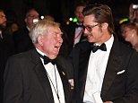 Brad Pitt and veteran Peter Comfort