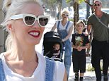 Gwen Stefani and Gavin Rossdale take their kids Kingston,Zuma and Apollo out in Encino,CA\n\nPictured: Gwen Stefani,Gavin,Kingston,Zuma and Apollo Rossdale\nRef: SPL869118  191014  \nPicture by: Ako/Splash News\n\nSplash News and Pictures\nLos Angeles: 310-821-2666\nNew York: 212-619-2666\nLondon: 870-934-2666\nphotodesk@splashnews.com\n