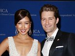 Mandatory Credit: Photo by Matt Baron/BEI/REX (3731588be).. Renee Puente and Matthew Morrison.. White House Correspondent's Association Gala Dinner, Washington D.C, America - 03 May 2014.. ..