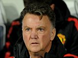 Manchester United manager Louis van Gaal watches in the dug out during the English Premier League soccer match between West Bromwich Albion and Manchester United at the Hawthorns, Birmingham, England, Monday, Oct. 20, 2014. (AP Photo/Rui Vieira)
