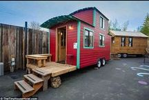 Tiny homes / by Daily Mail