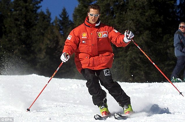 Last week it was reported Schumacher's coma recovery had apparently entered a new phase with him being moved out of intensive care into a rehabilitation ward