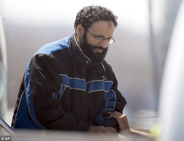 Unfair: In a brief court appearance in Montreal today, Esseghaier, pictured, made a brief statement in French in which he called the allegations against him unfair