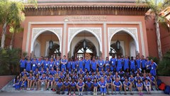 Team Europe at 2014 IAAF Continental Cup in Marrakech