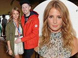 """Millie Mackintosh (L) and her husband Professor Green attend the Mahiki Rum Bar for the launch of the Mahiki Rum Family backstage during day 1 of the V Festival 2014 at Hylands Park on August 16, 2014 in Chelmsford, England.  \n\n\nCHELMSFORD, ENGLAND - AUGUST 16:  \n(Photo by David M. Benett/Getty Images for Mahiki Rum)\n\n""""Please note this image forms part of the Getty Premium Access agreement and may incur an additional fee. If reused it must be downloaded from the Getty site"""""""
