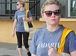 *EXCLUSIVE* Studio City, CA - Kirsten Dunst finishes up another workout session at Tracy Anderson Studios, the sweaty star kept it simple with a gray tee and black leggings matching her sneakers.\nAKM-GSI     October  21, 2014\nTo License These Photos, Please Contact :\nSteve Ginsburg\n(310) 505-8447\n(323) 423-9397\nsteve@akmgsi.com\nsales@akmgsi.com\nor\nMaria Buda\n(917) 242-1505\nmbuda@akmgsi.com\nginsburgspalyinc@gmail.com