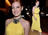 BEVERLY HILLS, CA - OCTOBER 21:  Actress Jessica Chastain attends the 28th American Cinematheque Award honoring Matthew McConaughey at The Beverly Hilton Hotel on October 21, 2014 in Beverly Hills, California.  (Photo by Alberto E. Rodriguez/Getty Images)
