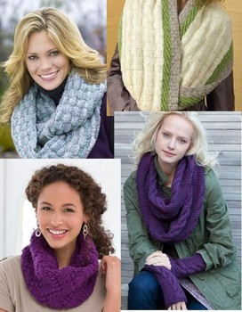 Free infinity scarf pattern to knit
