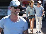22 OCTOBER 2014 SYDNEY AUSTRALIA EXCLUSIVE  Ronan Keating pictured with his girlfriend Storm Uechtritz enjoying a leisurely lunch at Bondi Trattoria before some shopping in Gould Street, Bondi as they walked home.  *No internet without clearance*. MUST CALL PRIOR TO USE  +61 2 9211-1088.  Matrix Media Group.Note: All editorial images subject to the following: For editorial use only. Additional clearance required for commercial, wireless, internet or promotional use.Images may not be altered or modified. Matrix Media Group makes no representations or warranties regarding names, trademarks or logos appearing in the images.