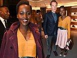 Mandatory Credit: Photo by Richard Young /REX (4217523af)\n Lupita Nyong'o\n Bally VIP store launch, London, Britain - 22 Oct 2014\n \n