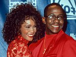 Mandatory Credit: Photo by Randy Bauer/REX (223562a).. WHITNEY HOUSTON AND BOBBY BROWN.. BILLBOARD MUSIC AWARDS - 1993.. ..