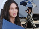 """*** Not available for subscription clients until after 22.00 on 221014 *** EXCLUSIVE ALLROUNDERActress Megan Fox spotted on the set of """"Zeroville"""" with co star Will Ferrell filming in Glendale Ca. Featuring: Megan Fox Where: Glendale, California, United States When: 21 Oct 2014 Credit: Cousart/JFXimages/WENN.com **Only available for publication in UK**"""