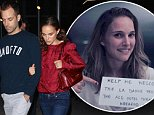 UK CLIENTS MUST CREDIT: AKM-GSI ONLY\nEXCLUSIVE: Hollywood, CA - Natalie Portman and her husband Benjamin Millepied hired a sitter for their son Aleph and treated themselves to a movie date night at ArcLight Cinemas. The happy couple locked arms as they left the popular Hollywood theater.  The Academy Award winning actress dressed casual for her quiet night out with the hubby in a red blouse, jeans and grey Adidas.\n\nPictured: Natalie Portman, Benjamin Millepied\nRef: SPL872019  211014   EXCLUSIVE\nPicture by: AKM-GSI / Splash News\n\n