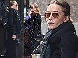 EXCLUSIVE: Mary-Kate Olsen and Ashley Olsen take a smoke break in NYC.\n\nPictured: Ashley Olsen and Mary-Kate Olsen\nRef: SPL869934  211014   EXCLUSIVE\nPicture by: Splash News\n\nSplash News and Pictures\nLos Angeles:\t310-821-2666\nNew York:\t212-619-2666\nLondon:\t870-934-2666\nphotodesk@splashnews.com\n